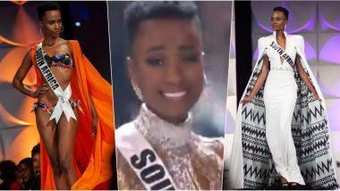 Miss Universe 2019 Winner: साउथ अफ्रीका की Zozibini Tunzi  ने जीता मिस यूनिवर्स 2019 का खिताब