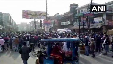 CAA Protest: मुजफ्फरनगर में हिंसक प्रदर्शन के बाद प्रशासन ने लगाई धारा 144, इंटरनेट सेवा भी है बंद