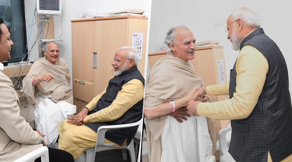 पीएम मोदी ने पुणे के अस्पताल में अरुण शौरी से मुलाकात की, देखें वीडियो
