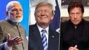 पाकिस्तान को उम्मीद: डोनाल्ड ट्रंप कश्मीर पर मध्यस्थता की अपनी पेशकश पर व्यावहारिक कदम उठाएंगे