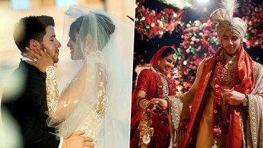 प्रियंका चोपड़ा और निक जोनस ने शादी की पहली सालगिरह पर अनदेखी तस्वीरें शेयर कर दी बधाई