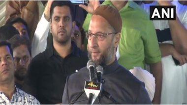 असदुद्दीन ओवैसी ने CAA को बताया 'काला कानून', कहा- अगर  विरोध में हैं तो घर के बाहर फहराएं तिरंगा