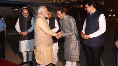 पुणे: पीएम मोदी से मिले उद्धव ठाकरे, महाराष्ट्र का मुख्यमंत्री बनने के बाद पहली बार हुआ आमना-सामना
