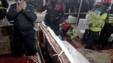 पाकिस्तान के लाहौर में धमाका, एक नागरिक की मौत-5 घायल