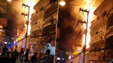 पटाया के हॉलिडे इन एक्सप्रेस होटल में लगी आग, 400 से अधिक लोगों को सुरक्षित निकाला गया, देखें तस्वीरें और वीडियो