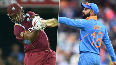 IND 71/1 in 8 Overs (Target 207/5) | India vs West Indies 1st T20I 2019 Live Score Update: आठ ओवर के बाद टीम इंडिया 76/1