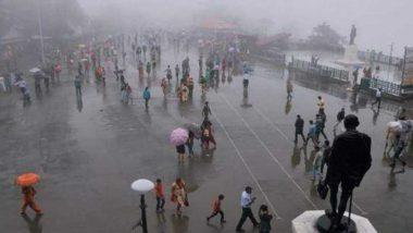 मुंबई के कुछ हिस्सों में हुई बेमौसम बारिश, तापमान लुढ़कने से मौसम हुआ सुहावना