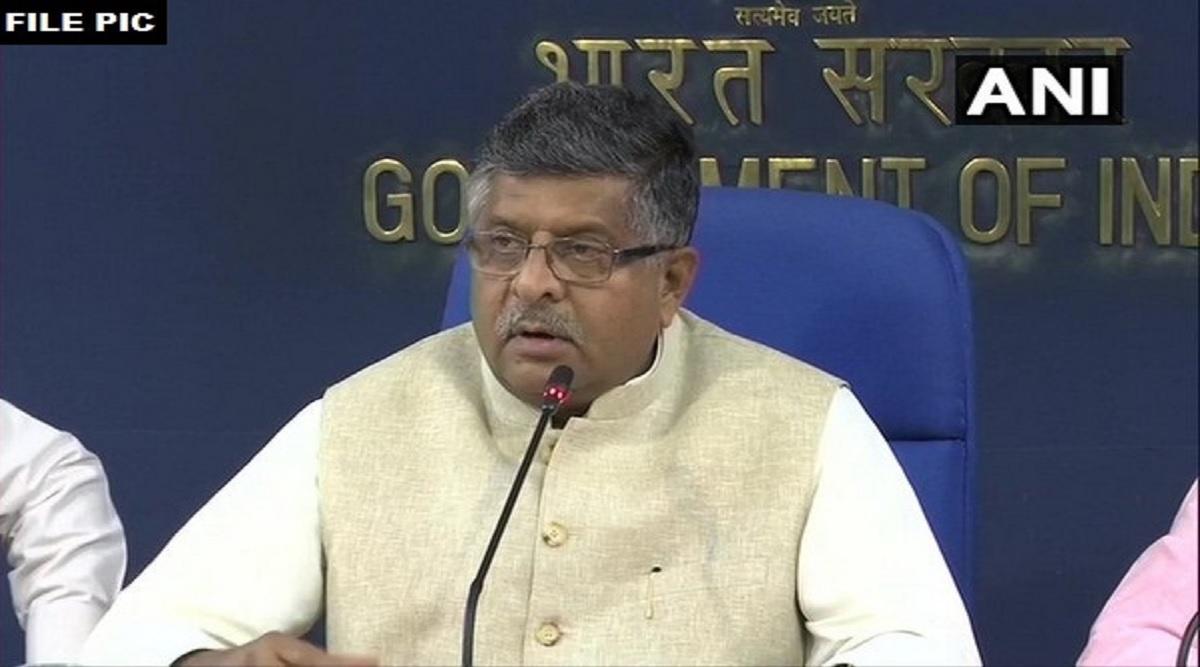 कानून मंत्री रविशंकर प्रसाद ने कहा- राष्ट्रीय सुरक्षा से खिलवाड़ करने वालों को बख्शेंगे नहीं