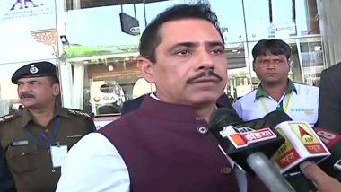 प्रियंका गांधी की सुरक्षा में सेंध को रॉबर्ट वाड्रा ने बताया बड़ी चूक, कहा- नहीं हटानी चाहिए थी SPG सिक्योरिटी