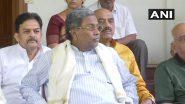 कर्नाटक विधानसभा उपचुनाव 2019: कांग्रेस की हार के बाद सिद्धारमैया ने विधायक दल के नेता और गुंडू राव ने प्रदेश अध्यक्ष पद से दिया इस्तीफा