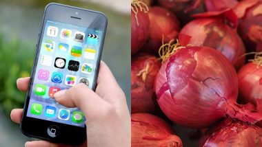 स्मार्टफोन बेचने के लिए एक दुकानदार ने निकाला नायाब तरीका, मोबाइल खरीदने पर रखा मुफ्त प्याज का ऑफर