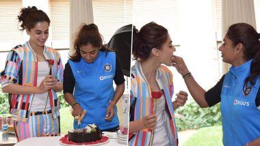 मिताली राज के जन्मदिन पर तापसी पन्नू ने किया वादा, बायोपिक के लिए जान झोंकने को हैं तैयार