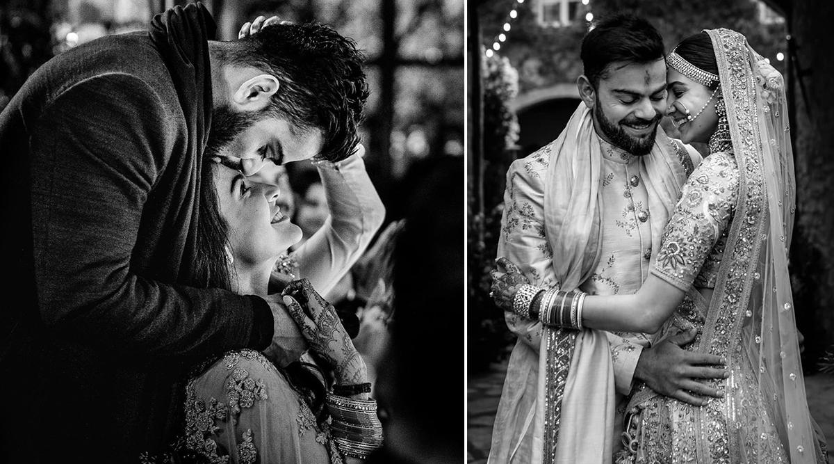 विराट कोहली-अनुष्का शर्मा ने शादी की दूसरी सालगिरह पर शेयर की ये रोमांटिक फोटो, कही दिल की बात