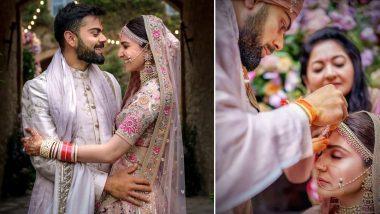 विराट कोहली-अनुष्का शर्मा मना रहे हैं शादी की दूसरी सालगिरह, देखें उनकी ड्रीम वेडिंग की ये स्पेशल Photos