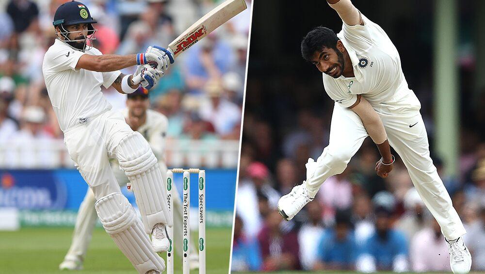Latest ICC Test Player Rankings 2019: विराट कोहली टेस्ट रैंकिंग में टॉप पर बरकरार, बुमराह गेंदबाजों में छठे पायदान पर खिसके