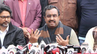 जम्मू-कश्मीर की जनता ने केंद्र शासित दर्जे का स्वागत किया: बीजेपी महासचिव राम माधव