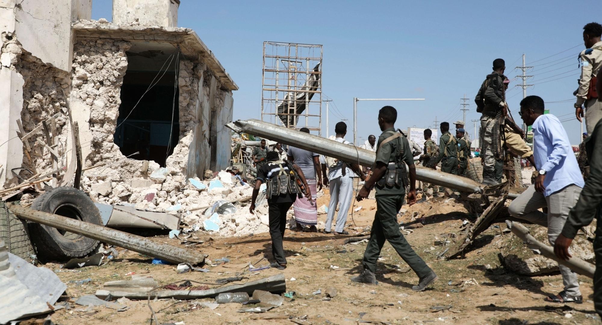 सोमालिया: मोगादिशू आतंकी हमले में 90 लोगों की हुई मौत, 130 घायल