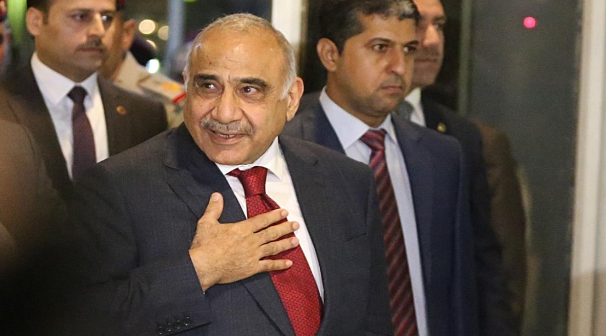इराकी प्रधानमंत्री आदिल अब्दुल माह्दी ने इस्तीफा पर चर्चा के लिए बुलाया संसद सत्र