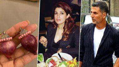 अक्षय कुमार ने पत्नी ट्विंकल खन्ना को दिये प्याज वाले झुमके, एक्ट्रेस ने इंटरनेट पर शेयर की फोटो