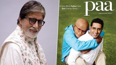 फिल्म 'पा' के पूरे हुए 10 साल, भावुक हुए अमिताभ बच्चन
