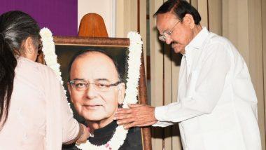 दिवंगत बीजेपी नेता अरुण जेटली की 67वीं जयंती पर पार्टी के नेताओं ने अर्पित की श्रद्धांजलि