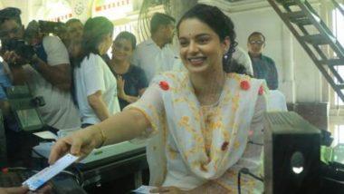 कंगना रनौत ने फिल्म 'पंगा' के प्रोमोशन के लिए पहुंची CST स्टेशन, एक्ट्रेस को टिकट काउंटर पर देख यात्री हुए हैरान