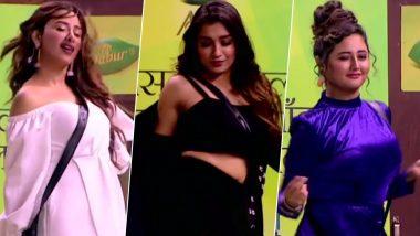 Video: 'बिग बॉस 13' के घर में फैशन शो, माहिरा शर्मा, रश्मि देसाई का हॉट अंदाज देखकर कायल हुए लोग