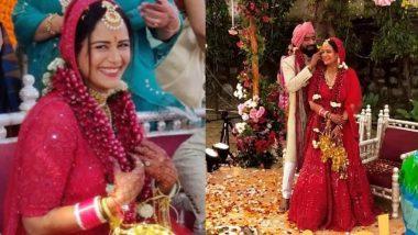 एक्ट्रेस मोना सिंह ने मुंबई में बॉयफ्रेंड श्याम संग रचाई शादी, दुल्हन के जोड़े में लग रही हैं बेहद खूबसूरत (Photos)
