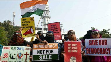 CAA Protests: अलीगढ़ में 60 अज्ञात  महिलाओं के खिलाफ मामला दर्ज