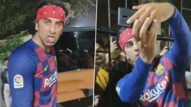 रणबीर कपूर को फूटबॉल मैच के दौरान लगी चोट, होंठ से बहने लगा खून, देखें Video