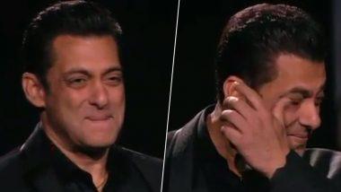 सलमान खान ने बिग बॉस के साथ पूरे किये 10 साल, शो से मिला प्यार देखकर भर आई भाईजान की आंखें