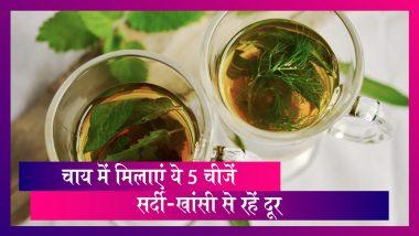 Winter Health Tips: अपनी चाय में मिलाएं ये 5 चीजें और रहें इन बीमारियों से दूर