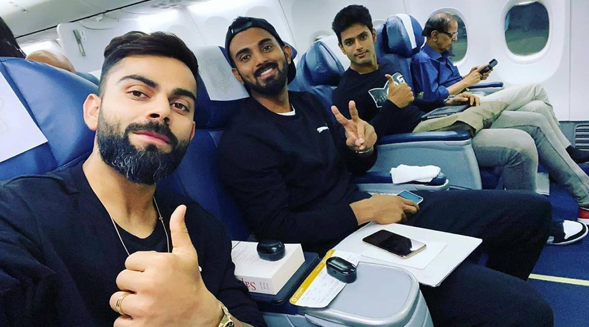 IND vs WI 2019: केएल राहुल के साथ हैदराबाद रवाना हुए विराट कोहली, देखें लेटेस्ट Photos