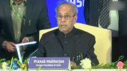 दिल्ली: पूर्व राष्ट्रपति प्रणब मुखर्जी ने कहा- भारतीय लोकतंत्र को बार-बार परखा गया है