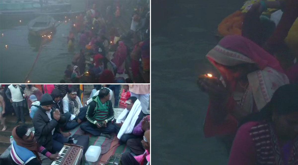 मकर संक्रांति पर लोगों ने गंगा में लगाई आस्था की डूबकी, हर्ष, उल्लास से मनाया जा रहा है ये पर्व