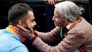 Team India की सुपर फैन चारुलता पटेल का हुआ निधन, व्हीलचेयर पर बैठ किया था भारतीय टीम को सपोर्ट, कप्तान कोहली के साथ तस्वीर हुई थी वायरल