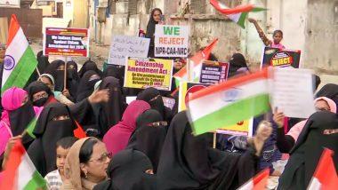 CAA Protest: दिल्ली के शाहीन बाग की तर्ज पर मुंबई में शुरू हुआ प्रदर्शन, सड़कों पर डटी हैं महिलाएं