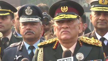 CDS जनरल बिपिन रावत ने कहा- हम राजनीति से दूर रहते हैं, हमें सरकार के निर्देशों पर काम करना पड़ता है