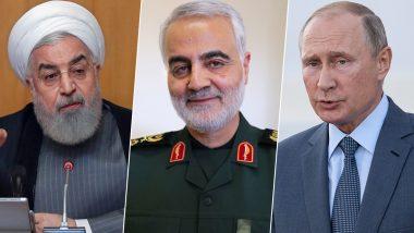 बगदाद हमला: ईरान के समर्थन में आया रूस, कहा- कासिम सुलेमानी की हत्या से मध्यपूर्व में और बढ़ेगा टेंशन