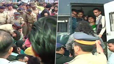 JNU हिंसा: मुंबई के गेटवे ऑफ इंडिया से प्रदर्शनकारियों को हटाया गया, आजाद मैदान में किया गया शिफ्ट