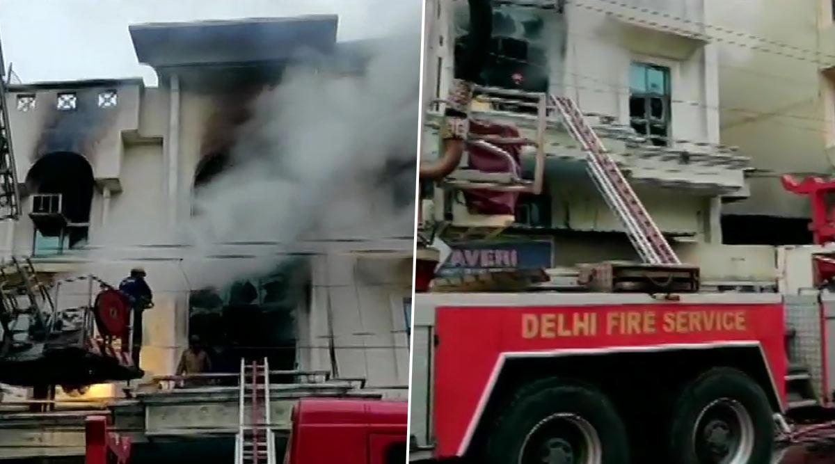 दिल्ली: पटपड़गंज इलाके में पेपर प्रिंटिंग प्रेस में लगी भीषण आग,1 शख्स की मौत, फायरब्रिगेड की 35 गाड़ियां मौके पर