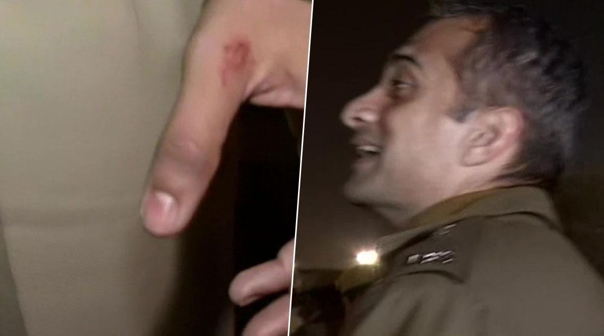 JNU हिंसा: संसद की ओर बढ़ रहे प्रदर्शनकारियों को रोकने के दौरान दक्षिण पश्चिम के एडिशनल डीसीपी हुए घायल