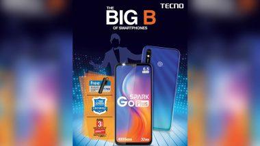भारत में टेक्नो 'स्पार्क गो प्लस' बजट फोन 6,299 रुपये में लॉन्च