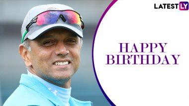 Happy Birthday Rahul Dravid: राहुल द्रविड़ के वो आंकड़े जो हर युवा बल्लेबाज को करेंगे प्रेरित