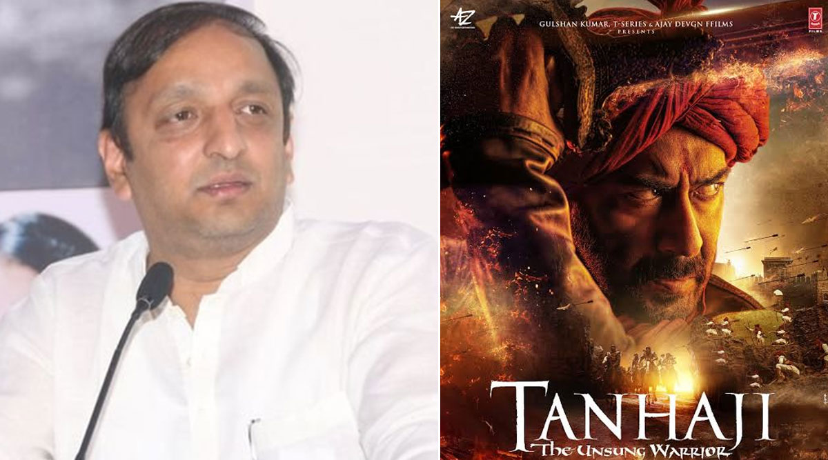 मुंबई: कांग्रेस नेता सचिन सावंत ने 'तानाजी: द अनसंग वॉरियर' को टैक्स फ्री करने के लिए राजस्व मंत्री को लिखा पत्र
