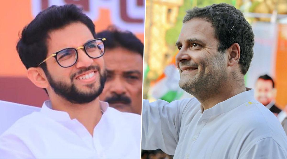 महाराष्ट्र सरकार में मंत्री बनने के बाद पहली बार राहुल गांधी से मिले आदित्य ठाकरे, दिल्ली में दोनों नेताओं ने आगे की रणनीति पर की चर्चा