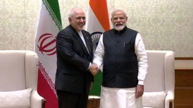 US से टेंशन के बीच ईरानी विदेश मंत्री जवाद जरीफ ने प्रधानमंत्री नरेंद्र मोदी से की मुलाकात