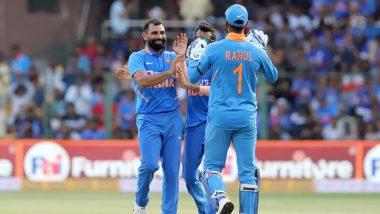 Ind vs Aus 3rd ODI 2020: मोहम्मद शमी की घातक गेंदबाजी, ऑस्ट्रेलिया ने बनाए 286 रन