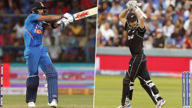 IND 142/4 in 13.2 Overs (Target 203/5) | India vs New Zealand 1st T20 Match 2020 Live Score Update: टीम इंडिया को लगा चौथा झटका, शिवम दुबे हुए आउट