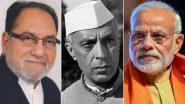 कांग्रेस सांसद हुसैन दलवई का विवादित बयान, कहा- नेहरू की तुलना में पीएम मोदी बहुत छोटे, देखें वीडियो